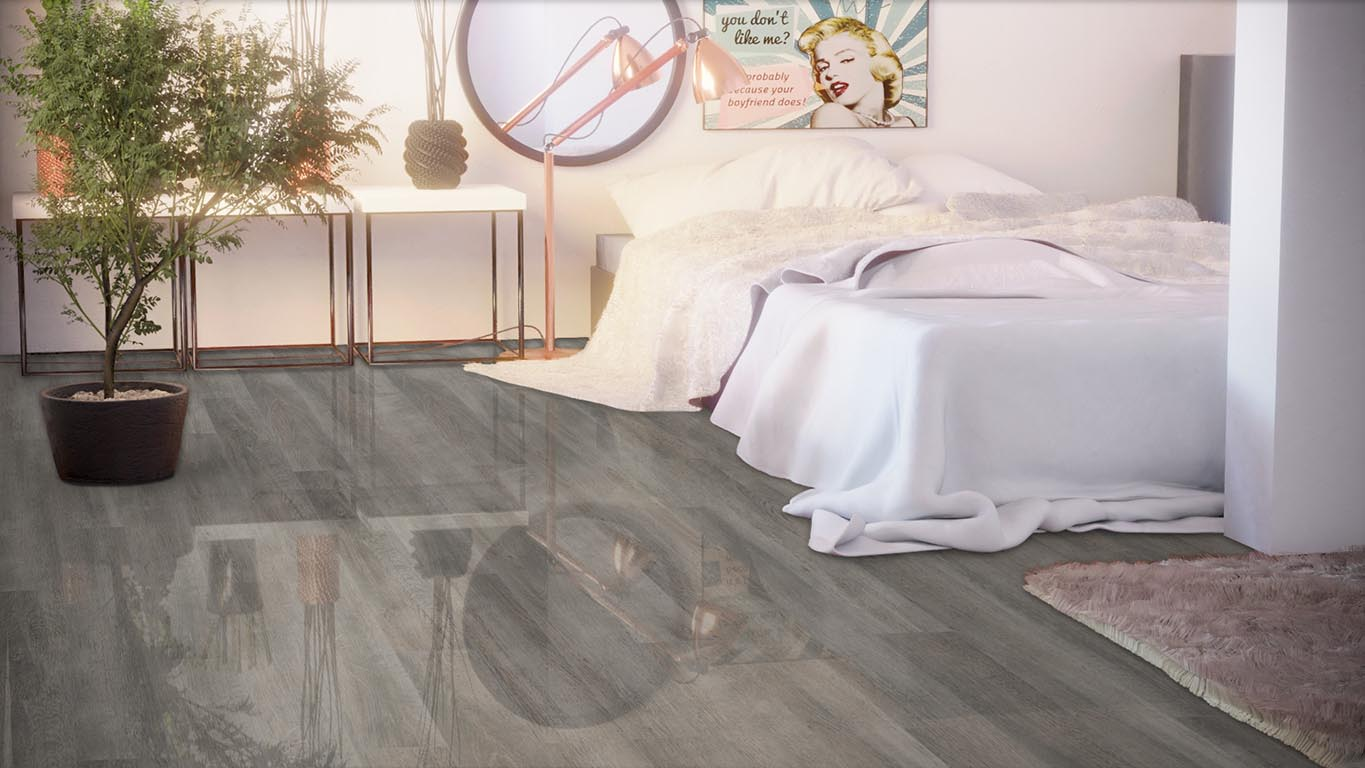 Ламинат FALQUON Blue Line Wood D4187 White Oak. Фото N2