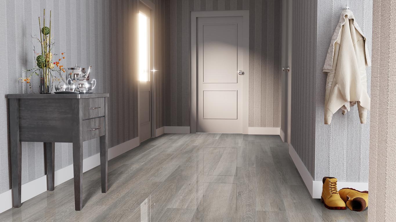 Ламинат FALQUON Blue Line Wood D4187 White Oak. Фото N3